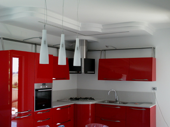 Soffitti In Cartongesso Cucina : In cartongesso in cucina creazione di un arco in cartongesso per