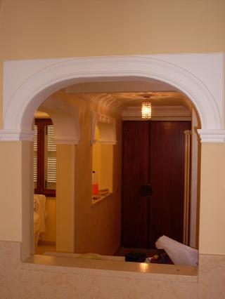 Lavori iterni e decorazioni impresa edile s d manc - Cornici finestre in mattoni ...